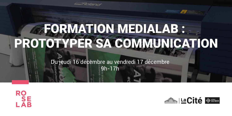 Formation Medialab : Prototyper sa communication